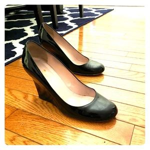 Kate Spade patent leather wedges, SZ 6.5